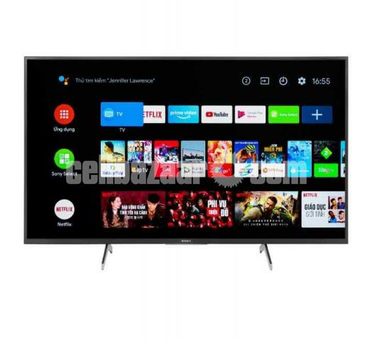 55 inch SONY X7500H VOICE CONTROL ANDROID UHD 4K TV - 4/5