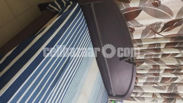 Bed Double and Mattress - 1/8