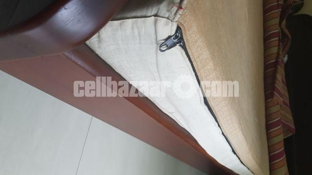 Bed Double and Mattress - 3/8