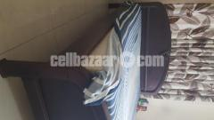 Bed Double and Mattress - Image 7/8