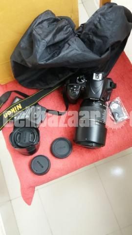 Nikon D3400 - 1/3