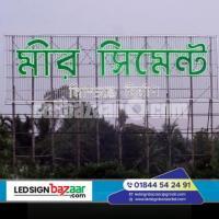 Acp board Acrylic letter billboard & stap angel Billboard