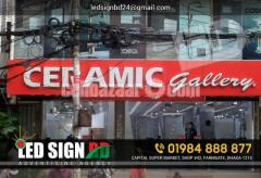 LED Sign Acrylic Letter & p10 Moving Display Board