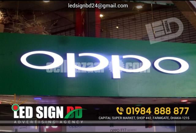 LED Sign Acrylic Letter & p10 Moving Display Board - 2/4