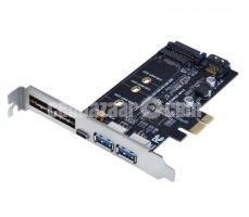 BRAND NEW PCI E RISER CARD NGFF M.2