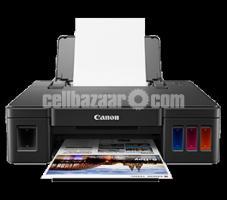 Canon Pixma G1010 Refillable 4-Color Ready Ink Tank Printer