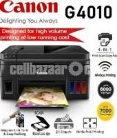 Canon Pixma G4010 All in One Wireless Ink Tank Printer