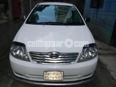 X Corolla 2002 Fresh Car