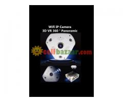 Wifi IP Camera 3D VR P3 + VR 360 Degree
