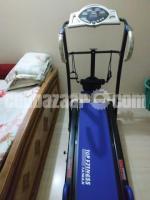Used Manual Treadmill- Blue & Black Color- Top Fitness (Taiwan)