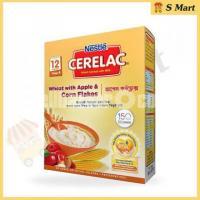 Nestle Cerelac 4 Wheat & Apple Corn Flakes (12 Months +) – 400gm