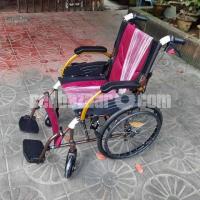 Lightweight Aluminium Travel Wheelchair