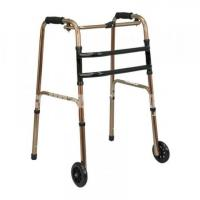 Portable Folding Walker with Front Wheels