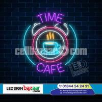 Neon signs are a luminous, eye-catching addition to any business front that will make a big