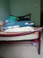 Imported Complete Metal Twin Bed