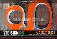 SS Bata Module Combined Letter with Led Sign
