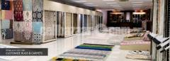 Wool Silk Rugs in India, Area Rugs India Supplier