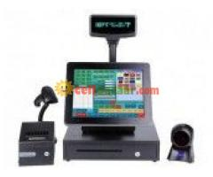 """Geesung AIO-1589 Dual Core 15"""" Touch All-in-One POS System"""