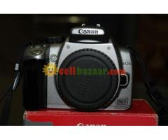 canon 350d with lens