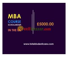 £5000 scholarship for MBA course in the UK