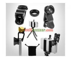 Mobile Camera Lens Kit & Tripod Combo