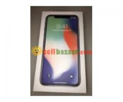 APPLE X -256GB From USA(4 month used)Fresh Condition