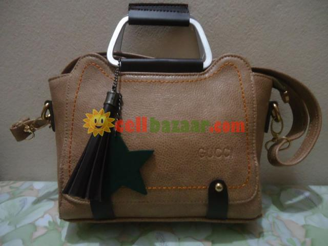 Leather Ladies Bag - 1/4