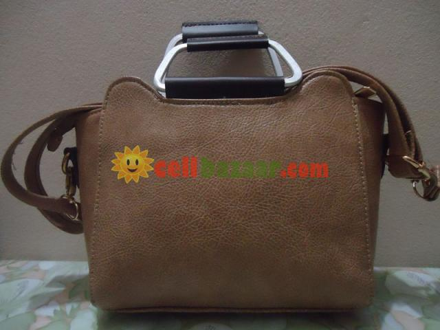 Leather Ladies Bag - 3/4