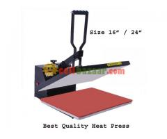 Digital Flatbed Heat Press 16/24 Inch