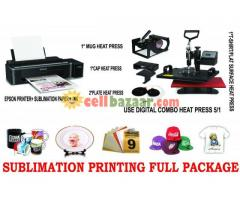 Combo Heat Press Machine Package