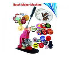 Badge Maker Machine (Best Quality)