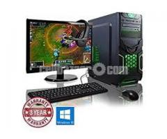 """New core i5 pc with 17"""" Led"""