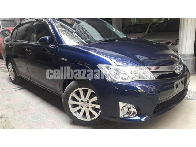 Toyota Axio G PRO Limited Hybrid Royal Blue - 1/5
