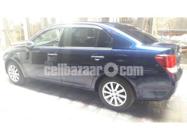 Toyota Axio G PRO Limited Hybrid Royal Blue - 4/5