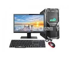 """Core i3 2nd Gen- Intel H61-1000GB-17"""" Led"""