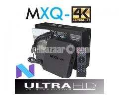 MXQ 4K RK3229 Android 7.1 Smart TV Box KODI 18.0 Fully Loaded H.265 4K 1080P   HD free movies