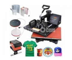 5 in 1 combo  heat preash machine - Image 1/4