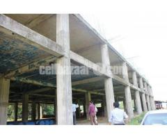 40000sqft factory building with 18bigha land for sell