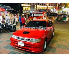 Toyota Starlet 1992 Japan