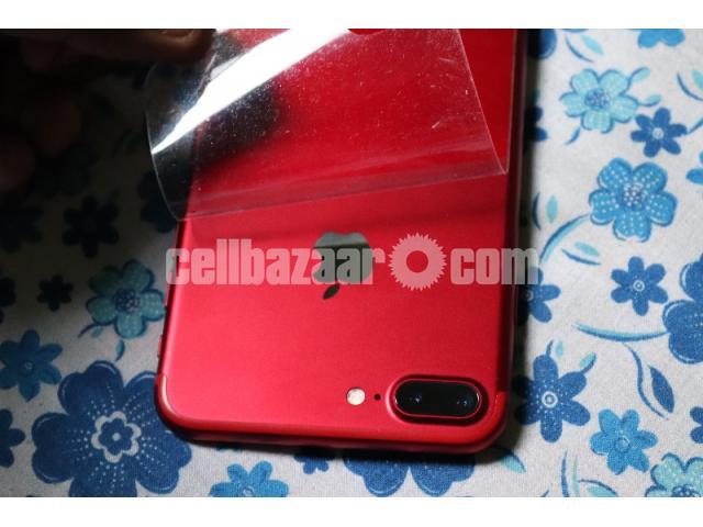 Apple iPhone 7plus RED - 3/5