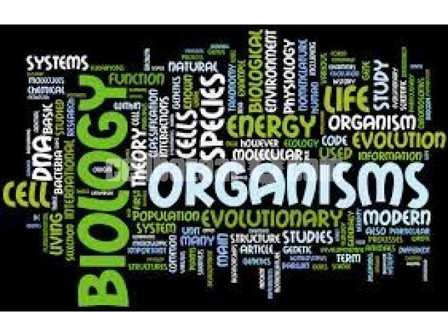 House Tutor for Biology - 1/5