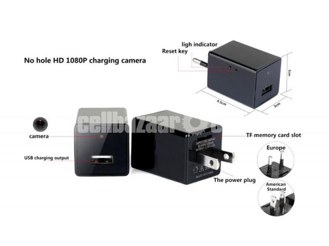 Wifi IP camera AC Plug P2P Charger Adapter