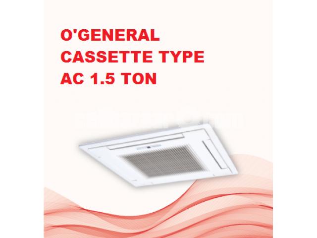 AUG54AB O'General 5 ton ceilling& cassete type ac - 4/5
