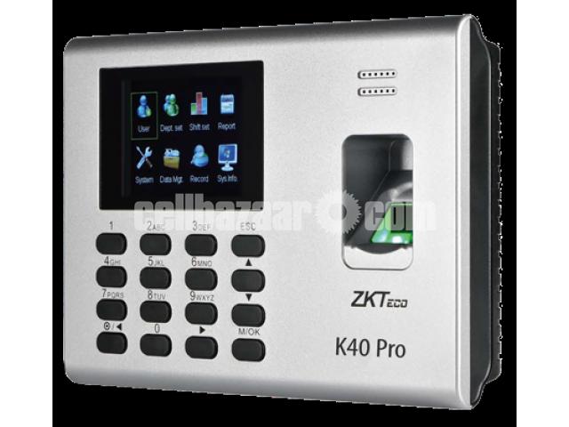 ZK40 Time Attendance & Simple Acccess Control Terminal - 1/2