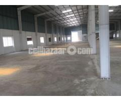 15000 sqft factory shed for rent at konabari