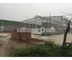 20000 sqft factory shed at konabari
