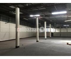 46000 sqft factory shed at board bazar