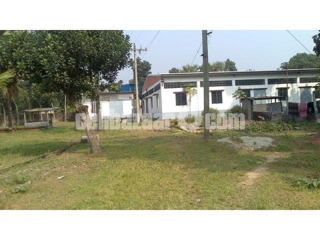 5.5 bigha land with factory setup at mawna - 2/5