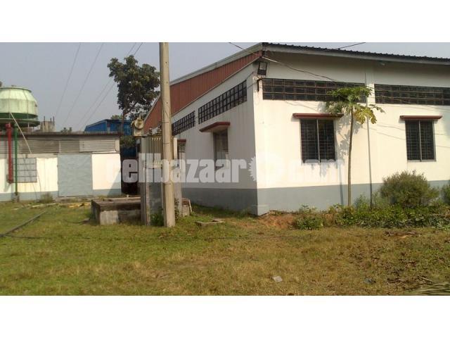 5.5 bigha land with factory setup at mawna - 3/5