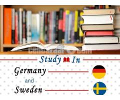 Study in GERMANY and SWEDEN